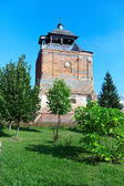 Old orthodox church tower on a summer day — Stock Photo