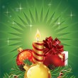 Royalty-Free Stock Векторное изображение: Christmas greeting card