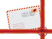 Letter for Valentine's Day — Stockvektor