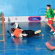 Floorball Championship of Ukraine 2011-2012 — Stock Photo