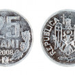 Moldova Coin 25 bani — Stock Photo #9444359