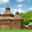 Ukrainian ancient church — Stock Photo #10674616