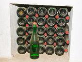 Kolekcję win w winnery — Zdjęcie stockowe