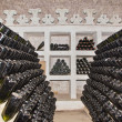 Classic champagne production - Stock Photo