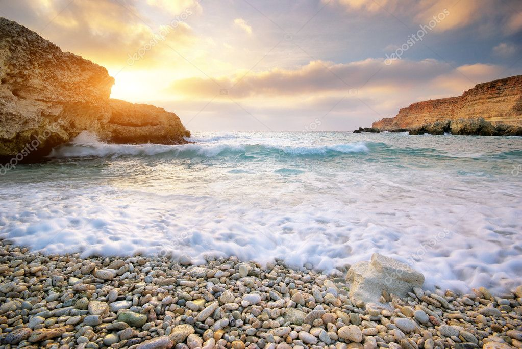 Beautiful seascape. Composition of nature. — Stock Photo #9839510