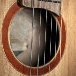 Classic guitar — Stock Photo