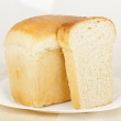 White pan bread — Stock Photo