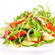 Fresh salad isolated on white — Stock Photo #10248523