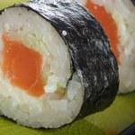 Salmon sushi — Stock Photo #8135147