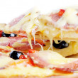 Italiaanse pizza — Stockfoto