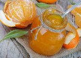 Orange jam — Stock Photo