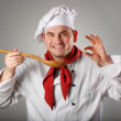Stock Photo: Smiling chef