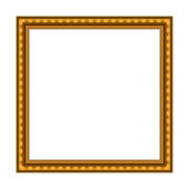 Vector Stylish Gold Frame — Stock Vector