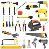 Set tools — Stock Vector
