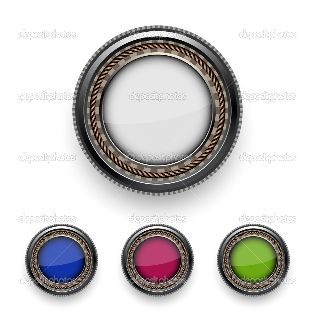 Buttons. Eps10 — Stock Vector #9587726