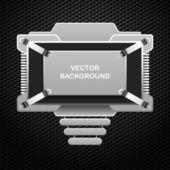 Abstrato base metal — Vetor de Stock