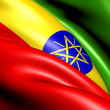 Flag of Ethiopia — Stock Photo #10247341