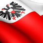 Flag of Hansestadt Lubeck, Germany. — Stock Photo #10247451