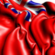 British Red Ensign - Stock Photo