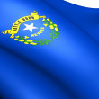 Flag of Nevada, USA. — Stock Photo
