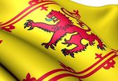 Royal Standard of Scotland — Stock Photo