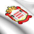 Monaco Coat of Arms - Foto de Stock