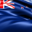 Flag of New Zealand - Stock fotografie