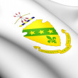 North Dakota Coat of Arms, USA. - Foto de Stock