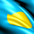 Flag of Palau - Stock fotografie