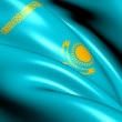 Flag of Kazakhstan - Stock Photo