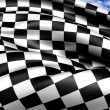Auto Racing Chequered Flag — Stock Photo #10697695