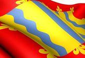 Bandera de cambridgeshire — Foto de Stock