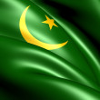 Flag of Mauritania - Stock Photo