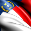 Flag of North Carolina — Stock Photo #8192015