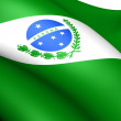 Flag of Parana, Brazil. — Stock Photo #8277171