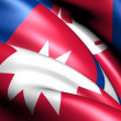 Flag of Nepal — Stock Photo #8302955