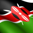 Flag of Kenya — Stock Photo #8325879