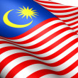 Flag of Malaysia — Stock Photo #8607824