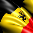 Government Ensign of Belgium — Stock Photo #8956120
