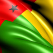 Stock Photo: Flag of Guinea-Bissau