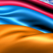 Flag of Armenia — Stock Photo #8985539