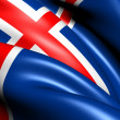 Flag of Iceland — Stock Photo #8985742