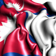 Flag of Nepal — Stock Photo #8985913