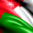 Flag of Oman — Stock Photo