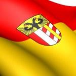 Flag of Bavarian Swabia, Germany. — Stock Photo
