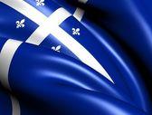 Quebec eyaleti, kanada bayrağı. — Stok fotoğraf