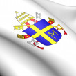 Pope John Paul II's Coat of Arms — Stock Photo