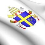 Pope John Paul II's Coat of Arms — Stock Photo