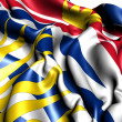 Flag of British Columbia, Canada. — Stock Photo #9186033