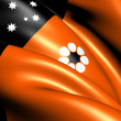 Flag of Northern Territory, Australia. — Stock Photo